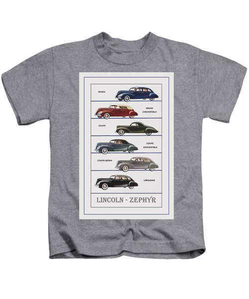 Automotive Art 76 Kids T-Shirt