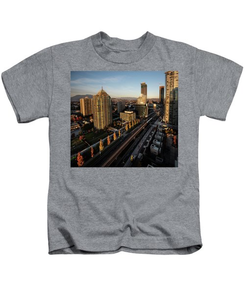 Autumn In Burnaby Kids T-Shirt