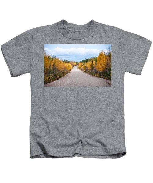 Autumn In Ontario Kids T-Shirt