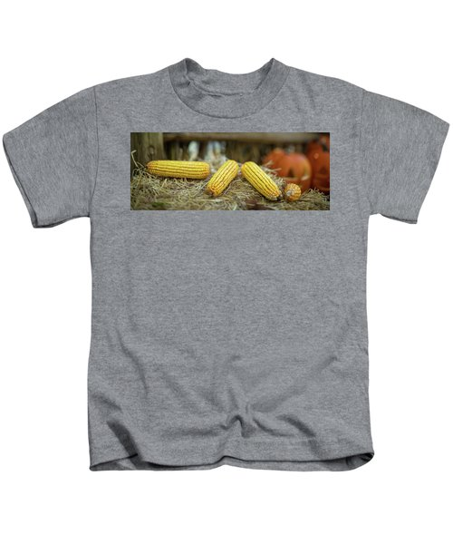 Autumn Scene Panorama Kids T-Shirt
