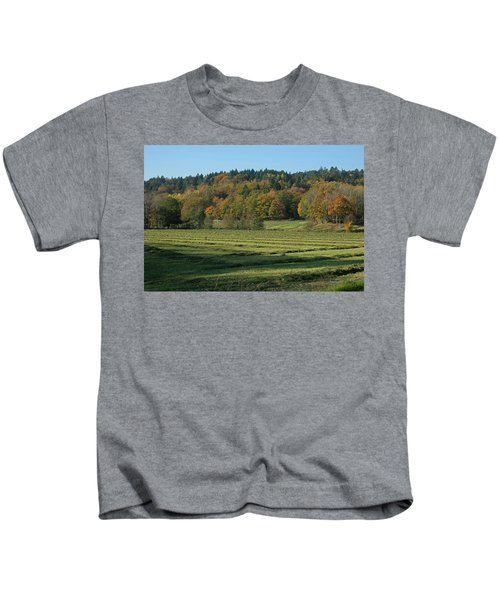 Autumn Scenery Kids T-Shirt