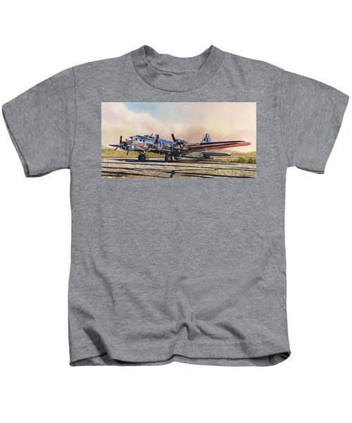 B-17g Sentimental Journey Kids T-Shirt