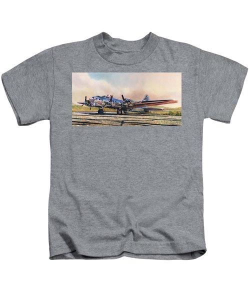B-17g Sentimental Journey Kids T-Shirt