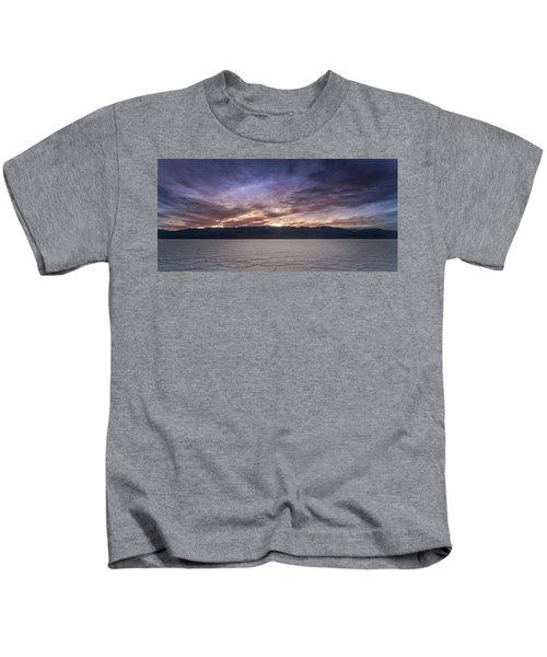 Badwater Basin Salt Flats Death Valley California Kids T-Shirt