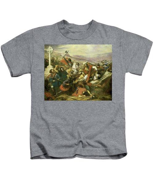 Bataille De Poitiers, 732 Kids T-Shirt