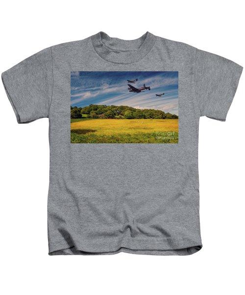 Battle Of Britain Memorial Flight  Kids T-Shirt