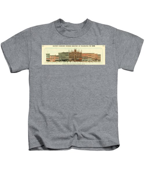 Baxter's Panoramic Business Directory Kids T-Shirt