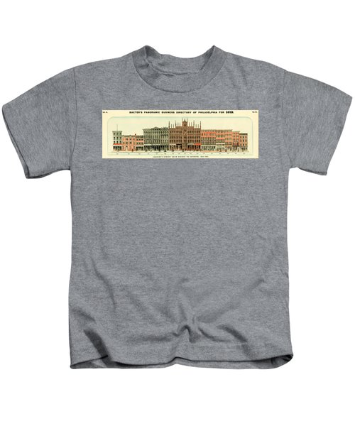 Baxter's Panoramic Business Directory Kids T-Shirt
