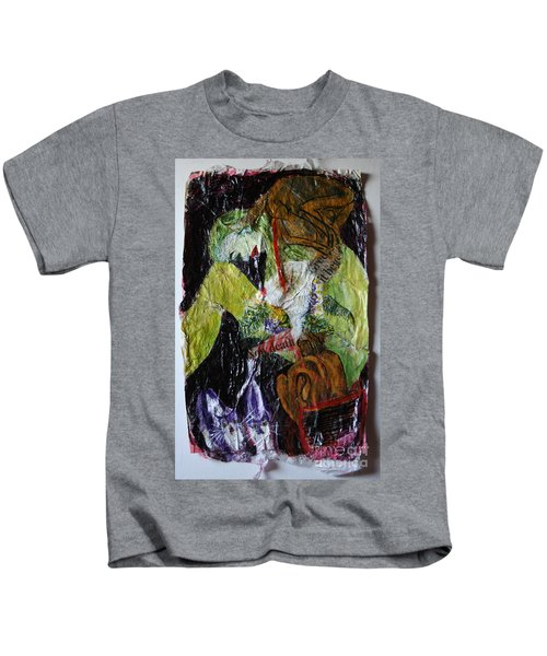 Beaten By A Monkey Kids T-Shirt