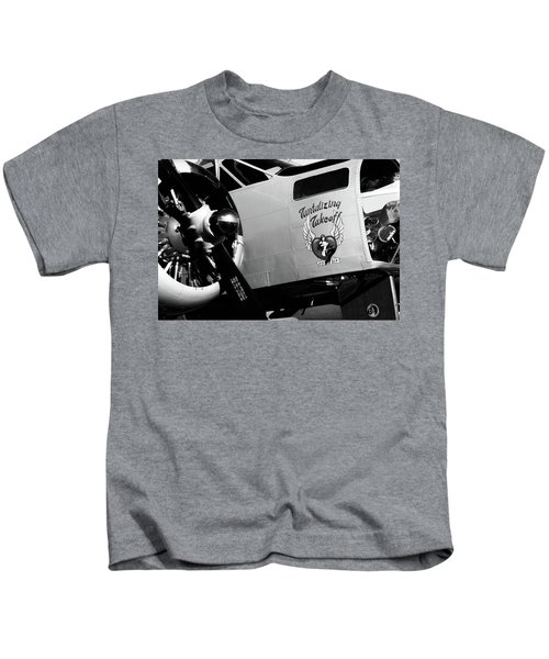 Beech At-11 Bw Kids T-Shirt