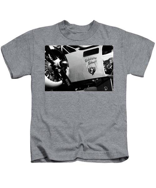 Beech At-11 Bw Kids T-Shirt