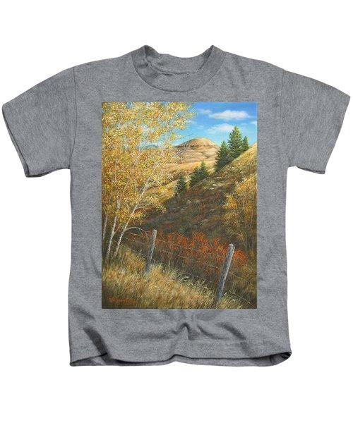 Belt Butte Autumn Kids T-Shirt