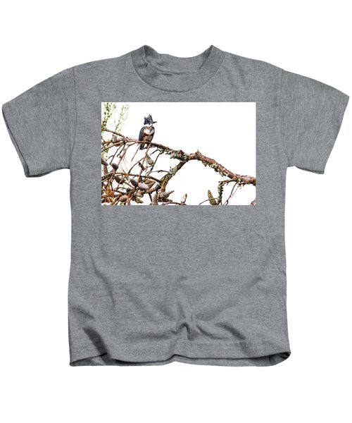 Belted Kingfisher Kids T-Shirt
