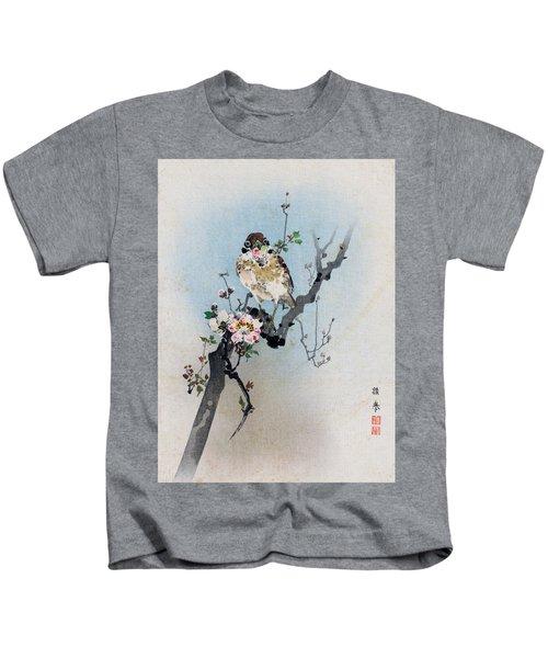 Bird And Petal Kids T-Shirt