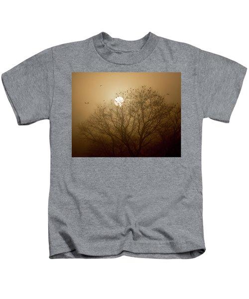 Blackbird Sunrise Kids T-Shirt