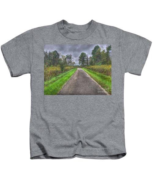 Blacklick Woods Pathway Kids T-Shirt