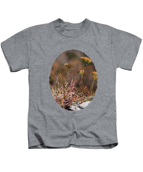 Blooming On The Edge Kids T-Shirt