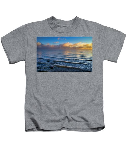 Blue And Gold Kids T-Shirt