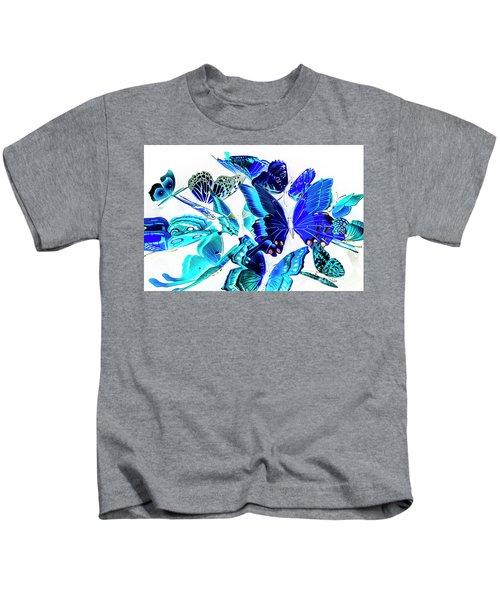 Blue Buggery  Kids T-Shirt