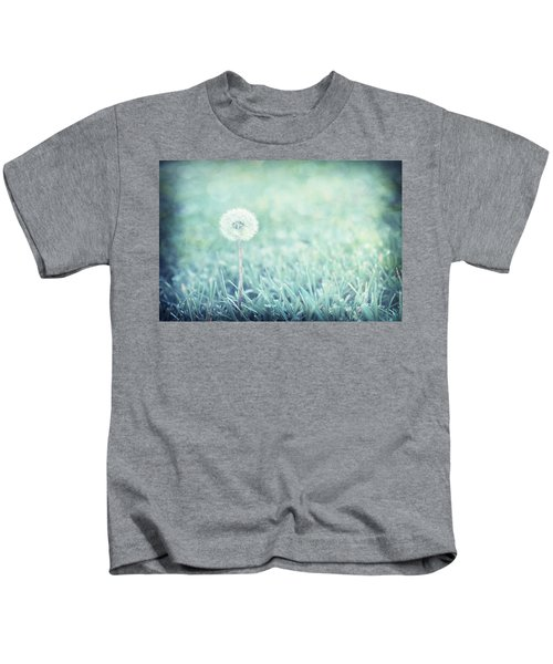 Blue Dandelion Kids T-Shirt
