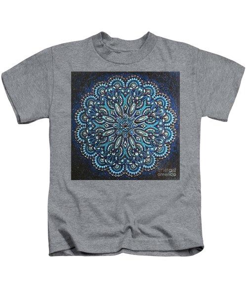 Blue Mandala Kids T-Shirt