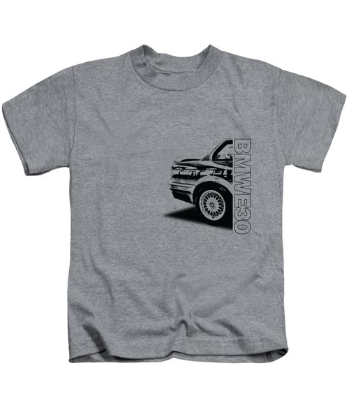Bmw E30 T-shirt Design Kids T-Shirt