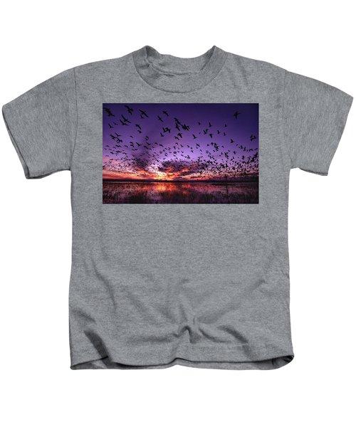 Bosque Blastoff Kids T-Shirt