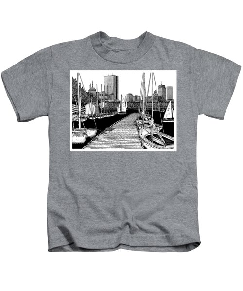 Boston's Community Boating Kids T-Shirt