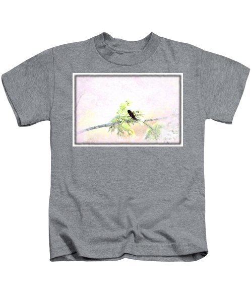 Boxelder Bug In Morning Haze Kids T-Shirt