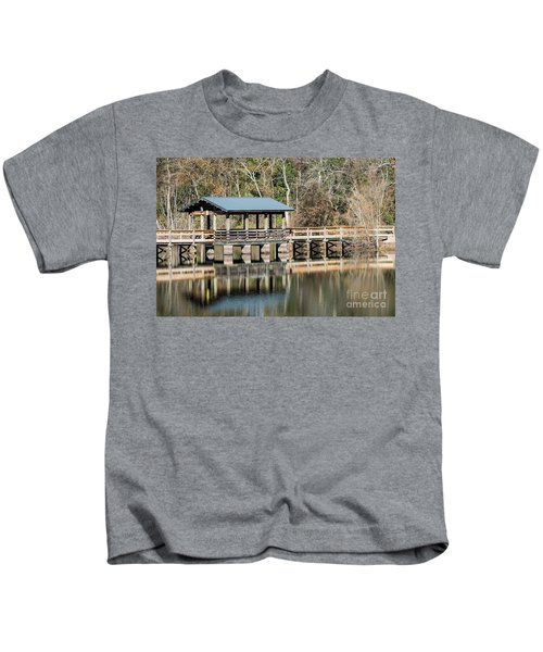Brick Pond Park - North Augusta Sc Kids T-Shirt