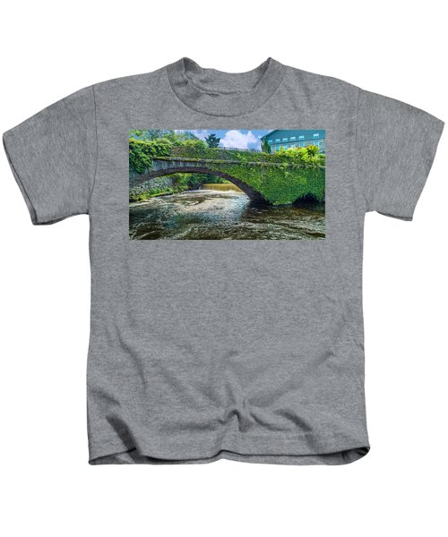 Bridge Of Flowers Kids T-Shirt