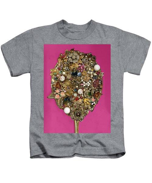 Bright Bejeweled Mirror Kids T-Shirt