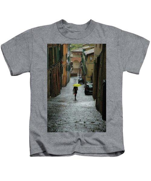 Bright Spot In The Rain Kids T-Shirt