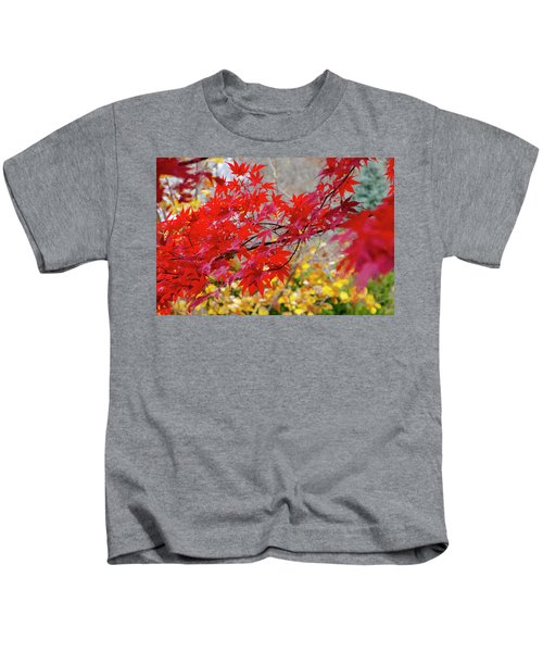 Brilliant Fall Color Kids T-Shirt