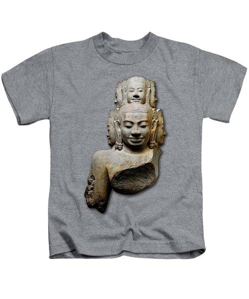 Bust Of Hevajra Kids T-Shirt