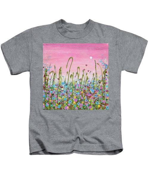 Buttercups And Lilacs Kids T-Shirt
