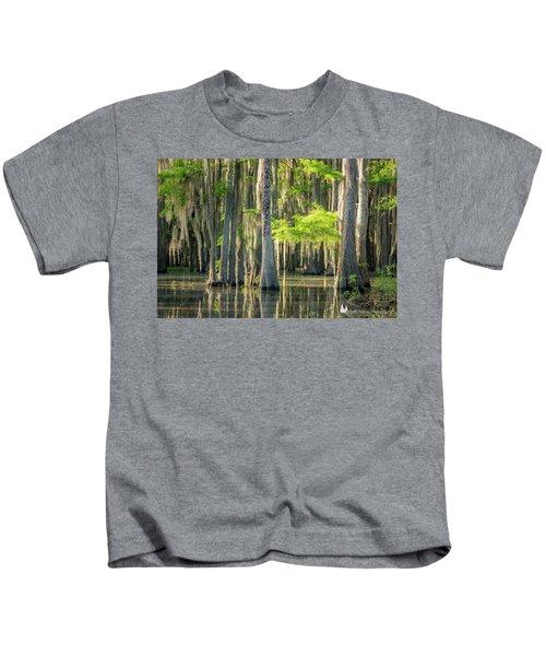 Caddo Swamp 1 Kids T-Shirt
