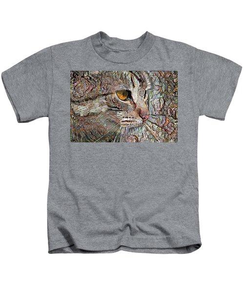 Camo Cat Kids T-Shirt