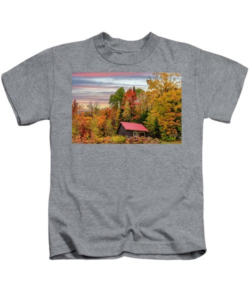 Canadian Autumn Kids T-Shirt
