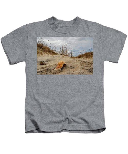 Cape Lookout Lighthouse Kids T-Shirt