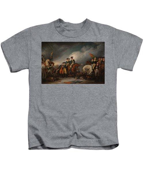 Capture Of The Hessians At Trenton - December 26, 1776 - John Trumbull  Kids T-Shirt