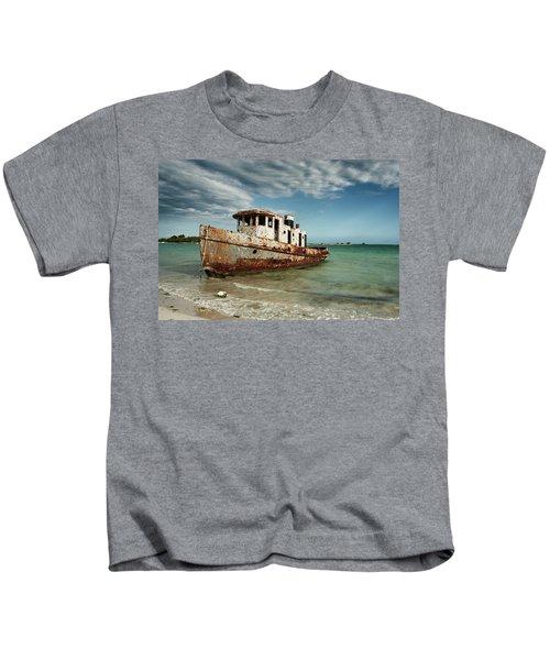 Caribbean Shipwreck 21002 Kids T-Shirt