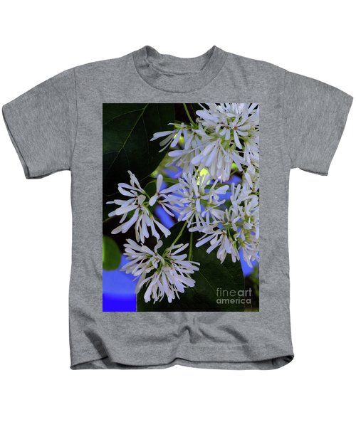 Carly's Tree - The Delicate Grow Strong Kids T-Shirt