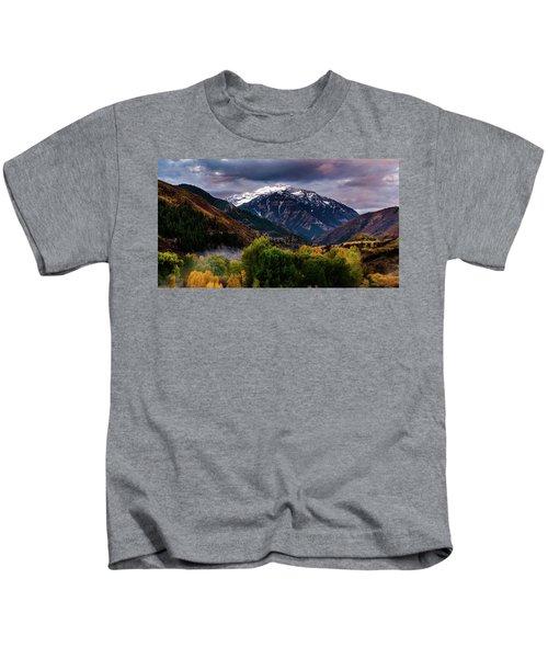 Cascade Mountain Kids T-Shirt