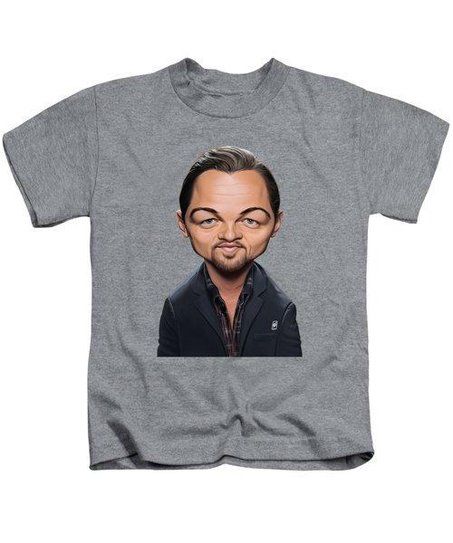 Celebrity Sunday - Leonardo Dicaprio Kids T-Shirt