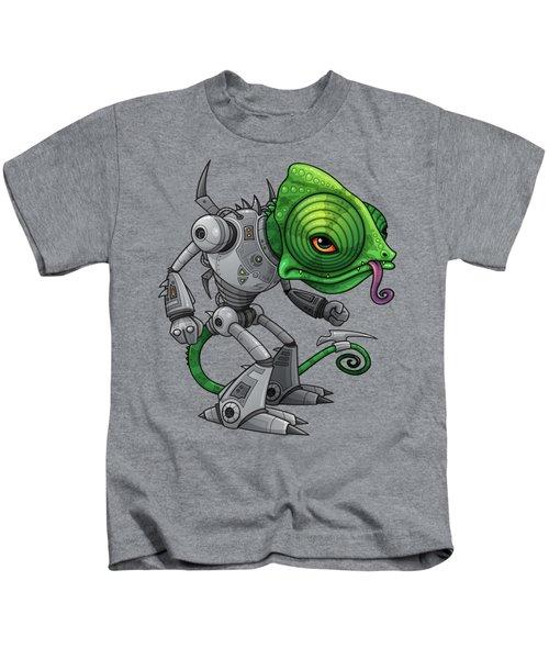 Chameleozoid Kids T-Shirt