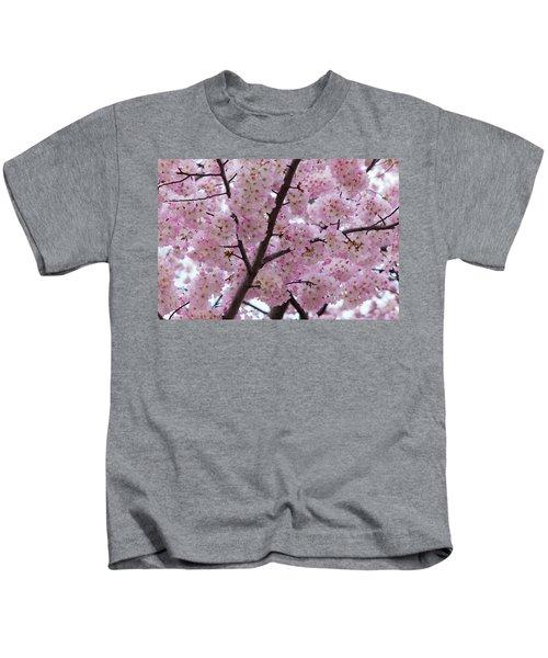 Cherry Blossoms 8611 Kids T-Shirt