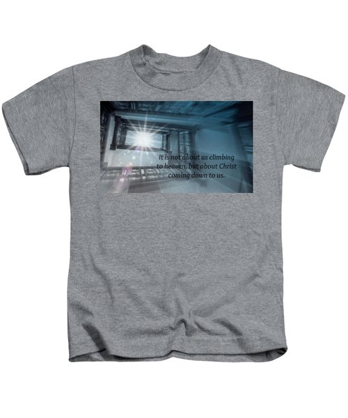Christ Alone Kids T-Shirt