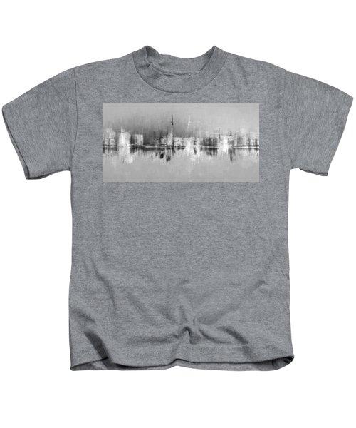 City In Black Kids T-Shirt
