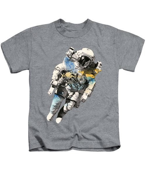 Clavius - Astronaut Alone In The Space Kids T-Shirt